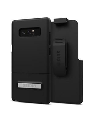Seidio SURFACE Combo for Samsung Galaxy Note8 - Black/Black