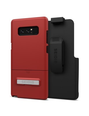 Seidio SURFACE Combo for Samsung Galaxy Note8 - Dark Red/Black