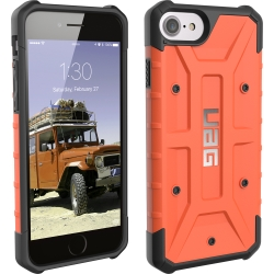 URBAN ARMOR GEAR - Pathfinder Case for iPhone 6/6s/7/8 in Rust