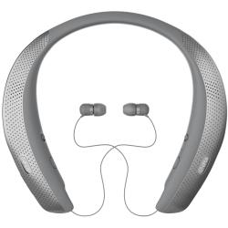 LG Mobile TONE Studio Bluetooth Wireless Speaker Headset in Gray