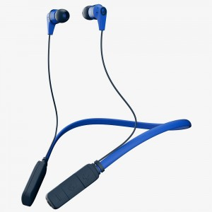 SkullCandy Ink'd Bluetooth Wireless Earbuds- Royal/Navy/Royal
