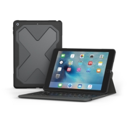 ZAGG Rugged Messenger Case for iPad Pro 9.7 in Black