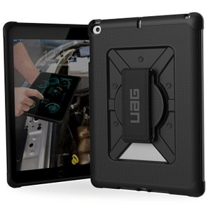 URBAN ARMOR GEAR Metropolis with Handstrap iPad 9.7 Black