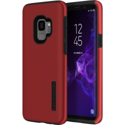 Incipio Technologies - DualPro Case Samsung GS9 Iridescent Red/Black