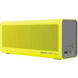 Braven - 805 Portable Wireless Speaker in Yellow / Gray