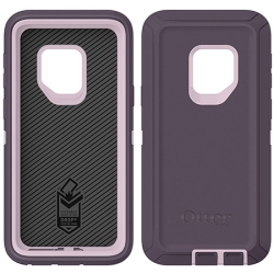 OtterBox DEFENDER Case w/Belt Clip For Samsung Galaxy S9 In Purple Nebula