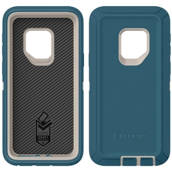 OtterBox DEFENDER Case w/Belt Clip For Samsung Galaxy S9 In Big Sur