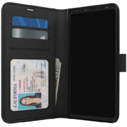 Skech - Polo Book Case for Samsung GS9 in Black