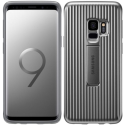 Samsung - Rugged Protective Cover for Samsung GS9 in Silve