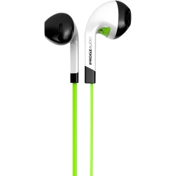 iFrogz - Audio InTone Earbuds with Mic in Green / White