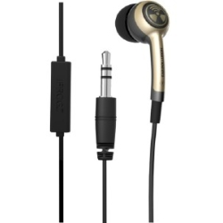 iFrogz - EarPolution Plugz Earbuds with In-Line in Gold