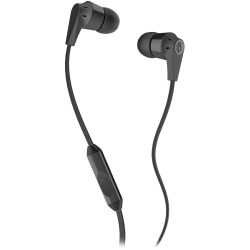 Skullcandy - Ink'd 2.0 Stereo Earbuds with Microphone in Black