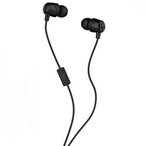Skullcandy JIB In Ear Wired Headphones w/Mic - Black