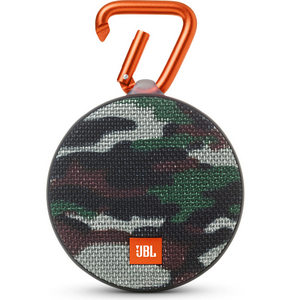 JBL Clip 2 Bluetooth Speaker - Squad Camo