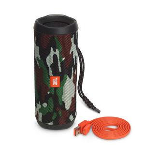 JBL Flip 4 Bluetooth Speaker - Camo Squad