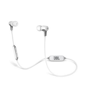 JBL E25 IN Ear Bluetooth Wireless Headphones w/Remote - White