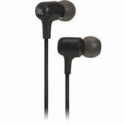 JBL E15 In Ear 3.5MM Headphones w/In-Line Microphone - Black