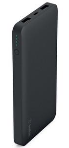 Belkin Pocket Power 10K Power Bank (10,000 MAH) w/Dual USB Ports Black