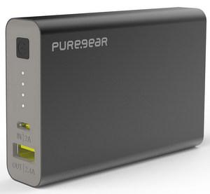 PureGear Purejuice 10K Power Bank Backup Battery (10500mAh) Black