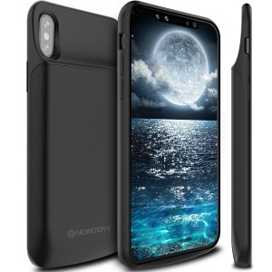 NEWDERY 6000mAh PowerCase Back-Up Battery Case For iPhone X