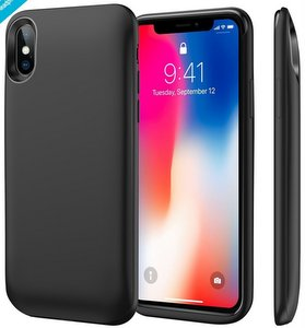 Umino iPhone X Battery Case, 6000mAh Rechargeable Charging Case