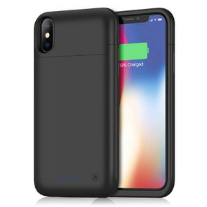 Gixvdcu iPhone X Battery Case 5200mAh, Ultra Slim Portable Charging Case