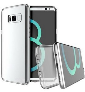 Prodigee Scene Case for Samsung Galaxy S8 - Clear