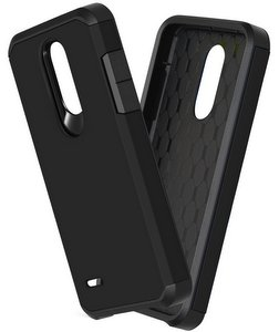 OEAGO Hybrid Shockproof Drop Protection Impact Rugged Heavy Duty Dual Layer Case Armor Cover (Black)