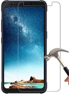Premium Ultra FITTED TEMPERED GLASS Screen Protector for Samsung S8 Active - Clear