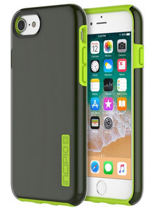 Incipio Technologies - DualPro for iPhone Plus in Smoke/Volt
