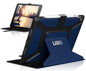 URBAN ARMOR GEAR Metropolis Folio iPad Pro 10.5 Cobalt/Silver