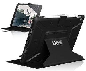 URBAN ARMOR GEAR Metropolis Folio iPad Pro 10.5 Black/Silver