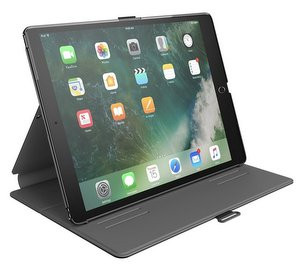 Speck Balance Folio Case (Black/Slate Grey) keeps your iPad 10.5