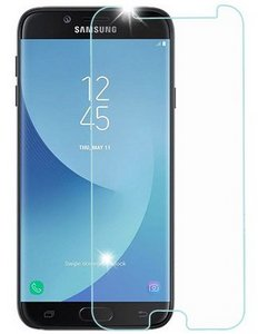 Premium FITTED TEMPERED GLASS Screen Protector (Galaxy-J7 2018, J7-Refine, J7-V-2ndGen, J7-Star)