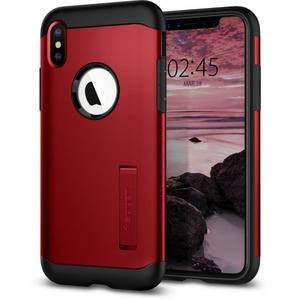 Spigen Slim Armor Case for iPhone X/XS in Merlot Red