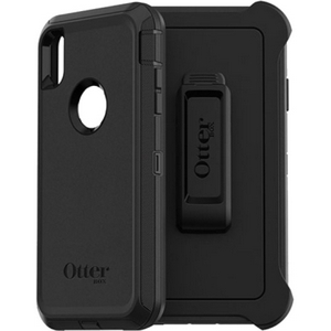 OtterBox DEFENDER Series Screenless Edition Case w/Belt Clip for iPhone Xs Max (Black)