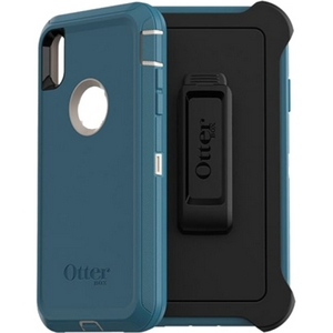 OtterBox DEFENDER Series Screenless Edition Case w/Belt Clip for iPhone Xs Max (Big Sur)