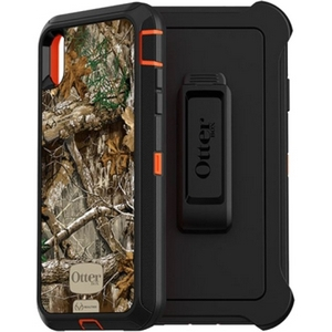 OtterBox DEFENDER Series Screenless Edition Case w/Belt Clip for iPhone Xs Max (Realtree Edge)