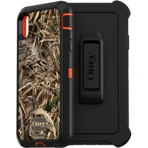 OtterBox DEFENDER Series Screenless Edition Case w/Belt Clip for iPhone Xs Max (Realtree Max 5 HD)