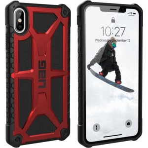 URBAN ARMOR GEAR Monarch Case for iPhone XS Max in Crimson