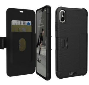 URBAN ARMOR GEAR Metropolis Case for iPhone XS Max in Black