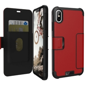 URBAN ARMOR GEAR Metropolis Case for iPhone XS Max in Magma