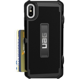 URBAN ARMOR GEAR Trooper Card Case for iPhone XS Max in Black