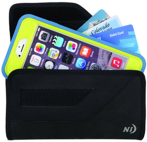 Nite-Ize Rugged Clip Case Horizontal XXL Pouch - Black