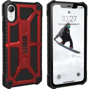 URBAN ARMOR GEAR Monarch Case for iPhone XR in Crimson
