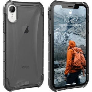 URBAN ARMOR GEAR Plyo Case for iPhone XR Ash (Gray Transparent)