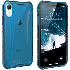 URBAN ARMOR GEAR Plyo Case iPhone XR Glacier (Blue Transparent)