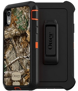 OtterBox DEFENDER Rugged Screenless Edition Case w/Belt Clip For iPhone XR Realtree Edge Camo
