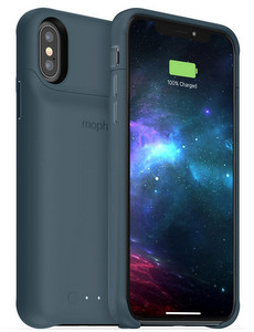mophie - Juice Pack Power Bank Case 2000 mAh for Apple iPhone Xs / X - Stone