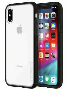 Incipio - Octane Pure Case for Apple iPhone Xs / X - Black